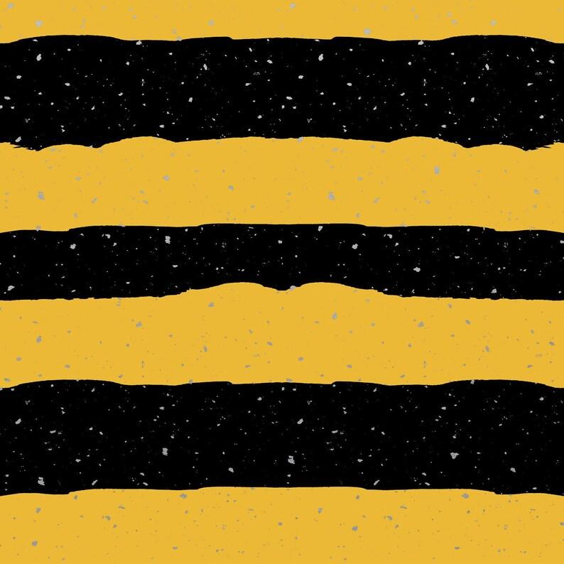 Pre Order Hufflepuff House Stripe Harry Potter Dog Bandana image 0