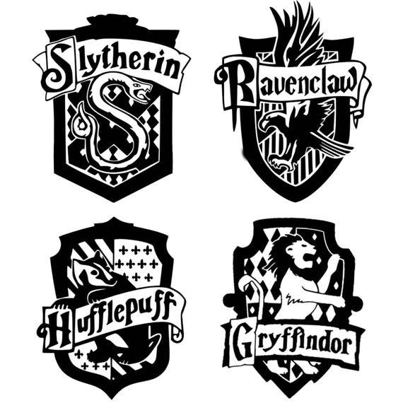 Harry Potter House Crest Monogram Addition For Dog Bandana Etsy