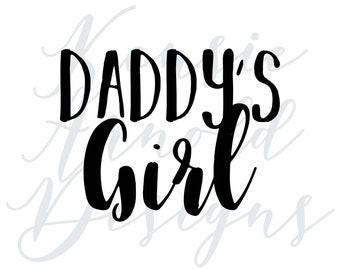 Daddy's Girl Monogram Addition for Dog Bandana - Matte, Glitter & HOLO Options