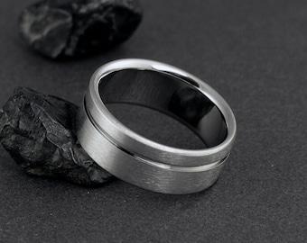 Titanium Wedding Band, Titanium Ring, Wedding Ring, Mens Titanium Ring, Womens Titanium Rings, Titanium Jewelry, Titanium Engagement Ring