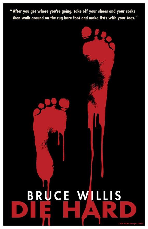 Die Hard 1988 11x17 Art Show Poster Print