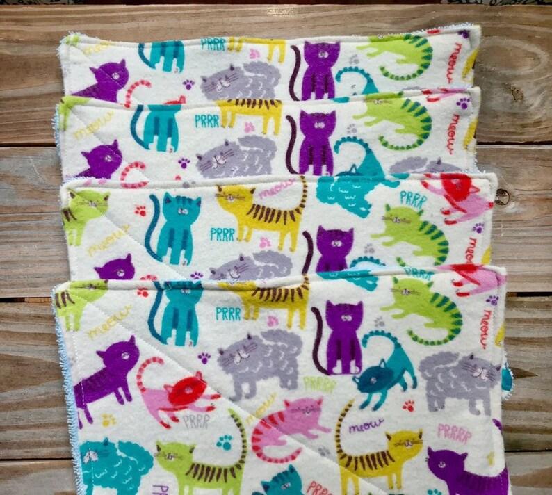 Cloth Cats Unpaper Towels wash Set of 4 image 0