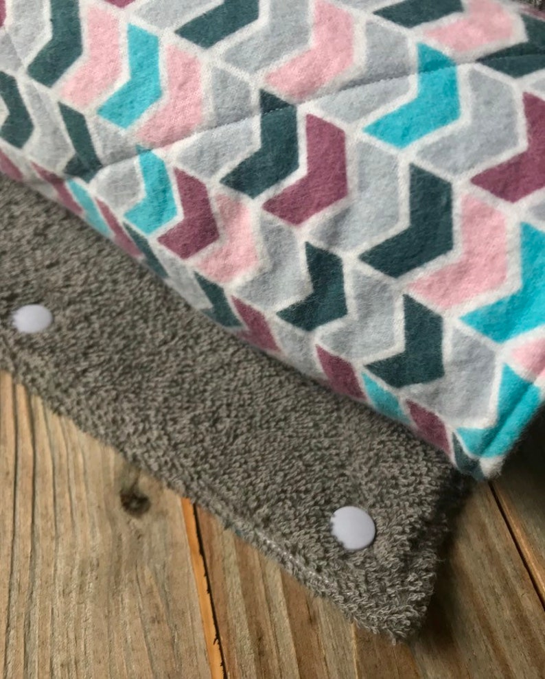 UnPaper Towels Zero Waste Flannel and Terry Cloth Modern Multi image 0
