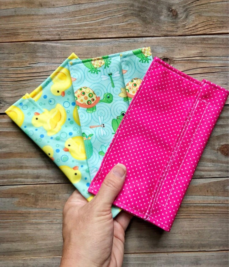 Reusable snack bags eco friendly  zero waste  and washable image 0