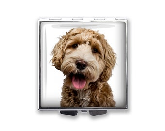 Your Dog's Photo on a Pill Box Organizer