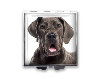 Your Great Dane Dog's Photo on a Pill Box Organizer