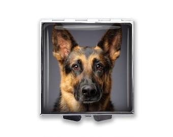 Your German Shepherd Dog's Photo on a Pill Box Organizer