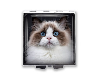 Your Cat's Photo on a Pill Box Organizer
