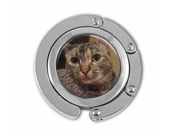 Your Custom Photo on a Purse Hook Hanger