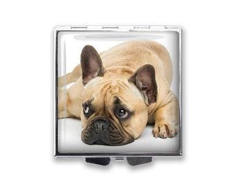 Your French Bulldog's Photo on a Pill Box Organizer