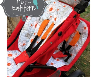 Phil and Teds Stroller Accessories PDF (INSTANT DOWNLOAD Sewing Pattern)