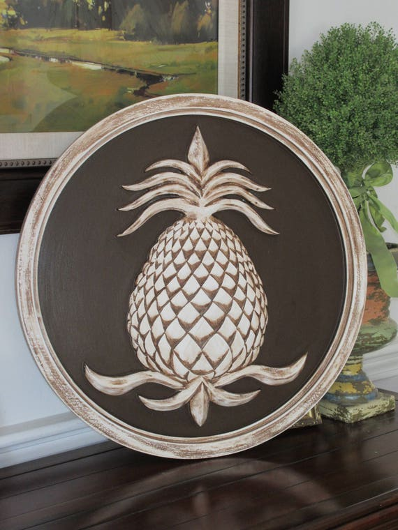 image 0 - Pineapples Pineapple Wall Decor Pineapple Decor Garden Etsy