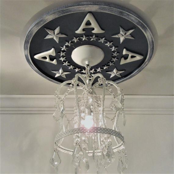 Monogram Home Decor Ceiling Medallion Navy Deocr Home And