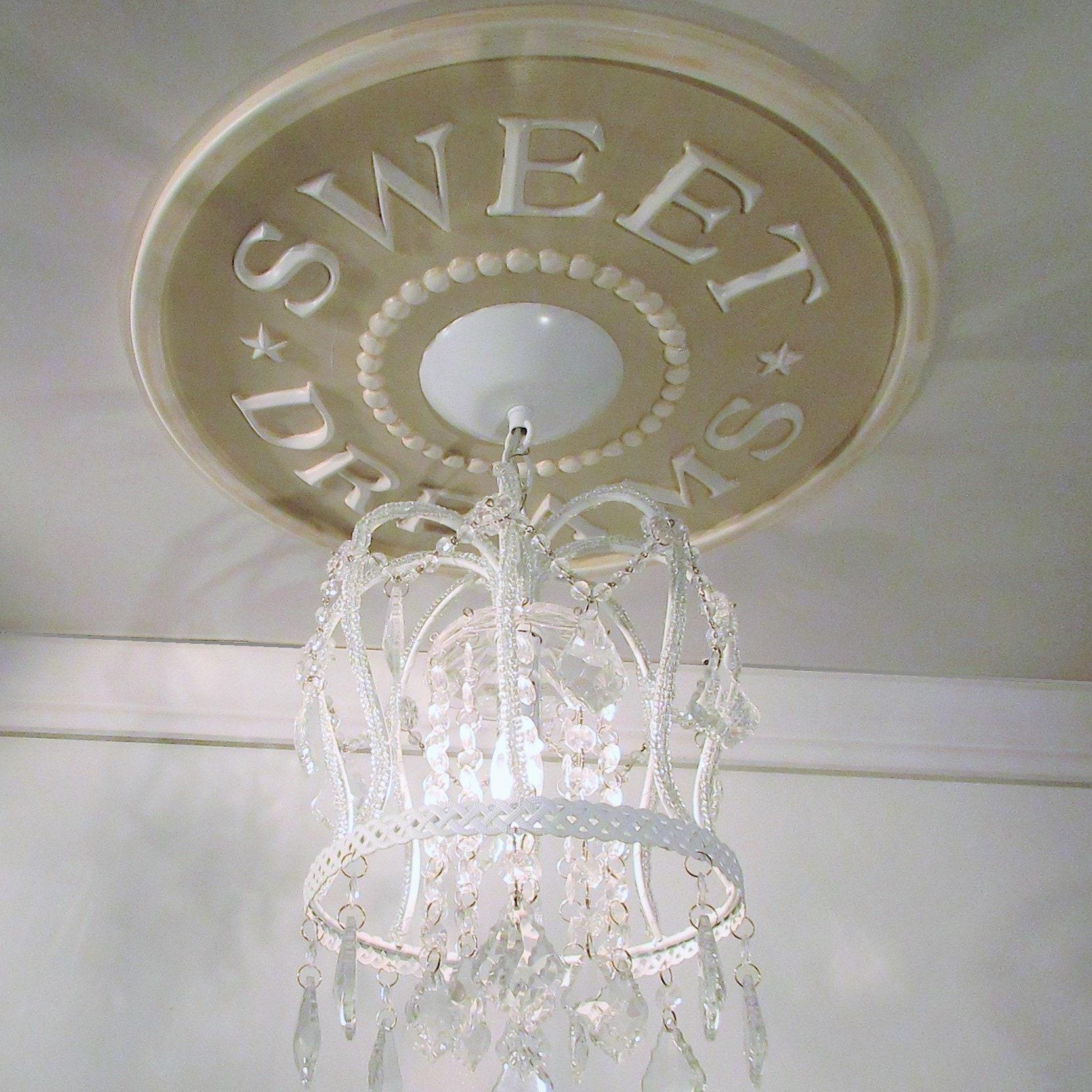 Medagliere del soffitto Ragazze Camera Decor Decor Rosa