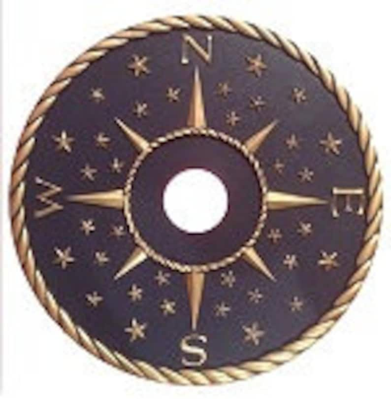 Compass Rose Ceiling Medallion Bussola Rose Compass Decor VnUEb5Pe