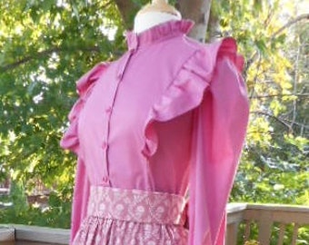 Free Shipping -Ladies Pioneer Blouse Amelia - Size 8
