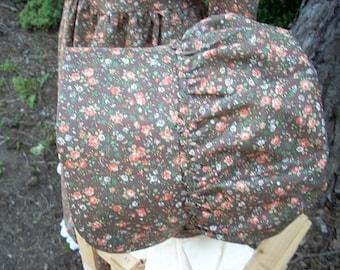 Bonnet Autumn Brown Floral