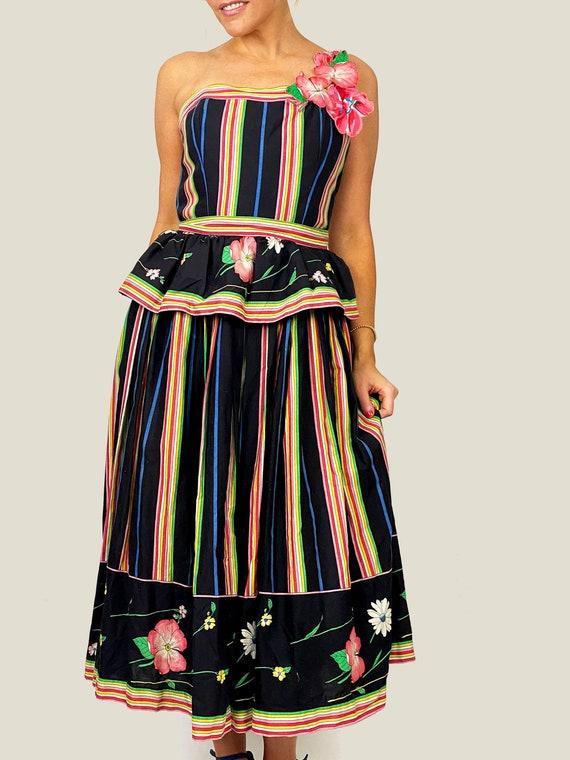 Palmera Vintage Victor Costa Dress