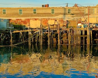 Wharf   Portland, Maine
