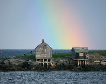 Fishing Shacks, Rainbow