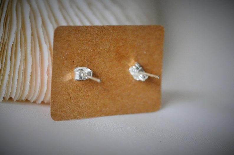 GLYPH Symbol Earring Design #04 Symbol Stainless Steel Earring ~ 10 mm Black WOOD Earring Unisex  Casual  Minimalist