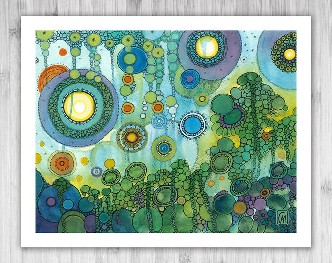 GICLEE PRINT -  Daydream - DoodlePainting - Select Your Size