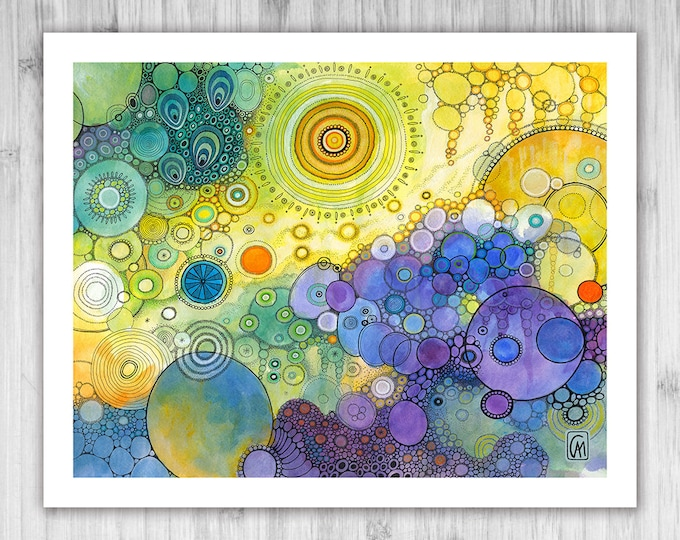 GICLEE PRINT -  The Quiet Explosion - Select Your Size