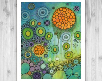 GICLEE PRINT -  Vapours - DoodlePainting - Select Your Size