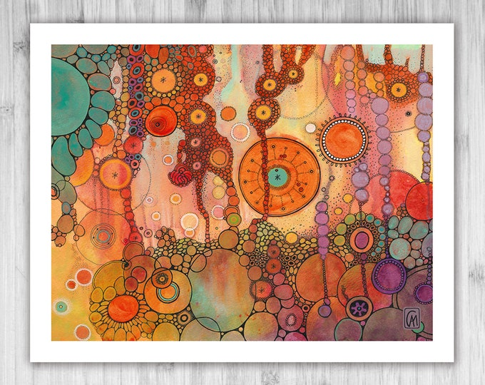 GICLEE PRINT -  Ascension - DoodlePainting - Select Your Size
