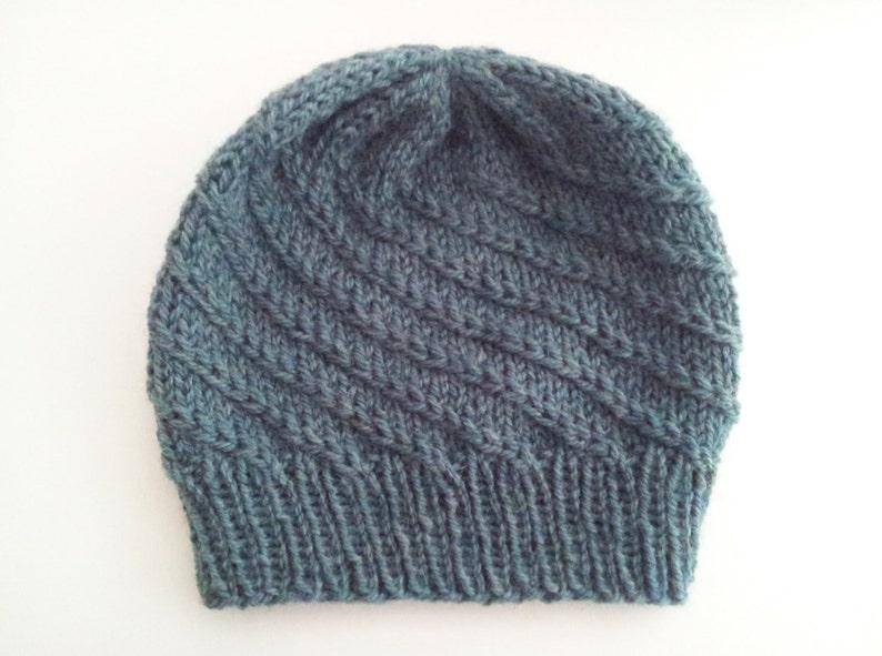 SWEETWATER  Knit Hat  Knitting PDF Pattern image 0