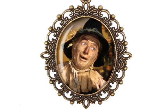 IF I ONLY HAD A BRAIN The Scarecrow in the Wizard of Oz Handcrafted Art