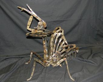 Metal Art Praying Mantis, Steel Praying Mantis