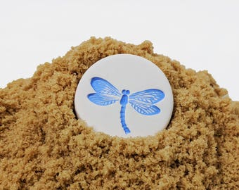 Brown Sugar Keeper, Blue Dragonfly, Gifts for Bakers, Sugar Saver, Ready to Ship