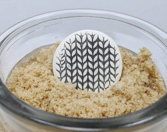 Brown Sugar Saver, Knitting or Baker Gift, Sugar Saver, Suger Softener Disk