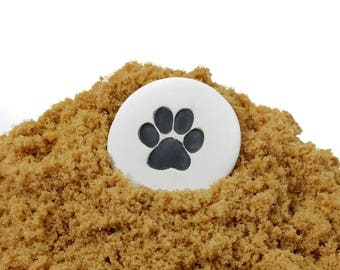 Brown Sugar Saver, Pet Themed Baking Gift, Gifts for Pet Lovers, Paw Print, Free Shipping