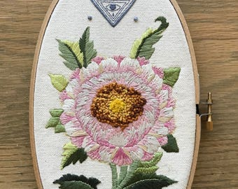Lotus (Original Embroidery)