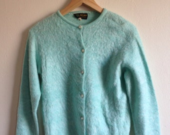 Belair Seafoam Vintage Cardigan