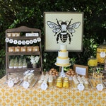Bee Dessert Backdrop- Baby Bee by Bloom