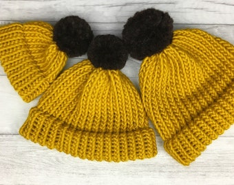 9ae8e3be89c Yellow Knit Hat. ribbed knit hat lee s yarning. neon yellow ...