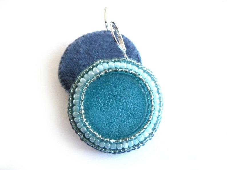 Rainbow Moonstone Macrame Pendant Pear Shape Nice Quality Strong Blue Flashy Fire Size 4.2 Cm Long