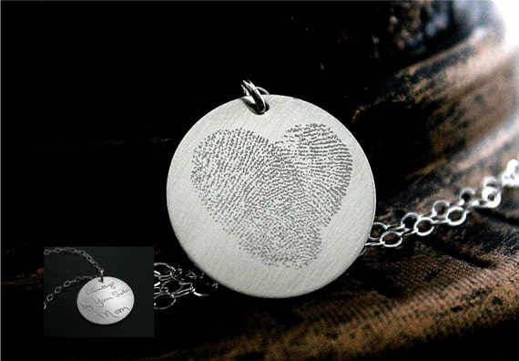 Jewelry Stores Network Sterling Silver Gold Plated Footprints Heart Locket 20x20mm