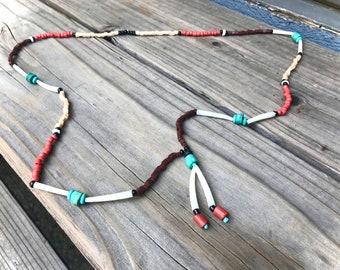 Indigena Bolero Beaded Turquoise Necklace