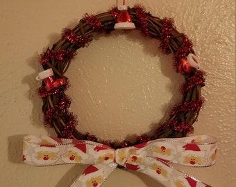 "6"" Santa Wreath"