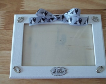 """3x5 Wedding Picture Frame """"With This Ring"""""""