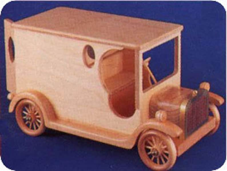 Woodcraf Patterns Vintage Car Patterns Scroll Saw Pattern Woodworking Plan DP273-1924 Chevy Delivery Vanm