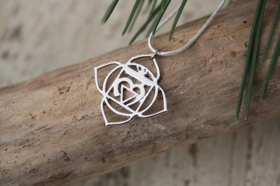 ROOT CHAKRA NECKLACE -Chakra Necklace- Sacred- Yoga- Spiritual- Crystals- Reiki Necklace- Chakra Jewellery- Gift- Christmas- Mandala