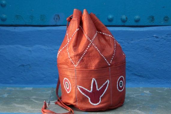 NAVAJO EAGLE BAG - Shoulder bag - Duffle bag - Aztec - Bohemian - Tribal - Bucket Bag - Satchel - Bespoke - Autumn - 70's - 60's