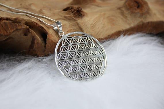 MANDALA NECKLACE - Sacred Geometry -Mandala -Spiritual Jewelry -Statement Necklace -Gold- Brass- Flower of Life- Meditation -Metatron Cube