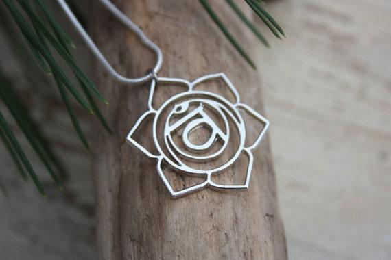 SACRAL CHAKRA NECKLACE -Chakra Necklace- Sacred- Yoga- Spiritual- Crystals- Reiki Necklace- Chakra Jewellery- Gift- Christmas- Mandala