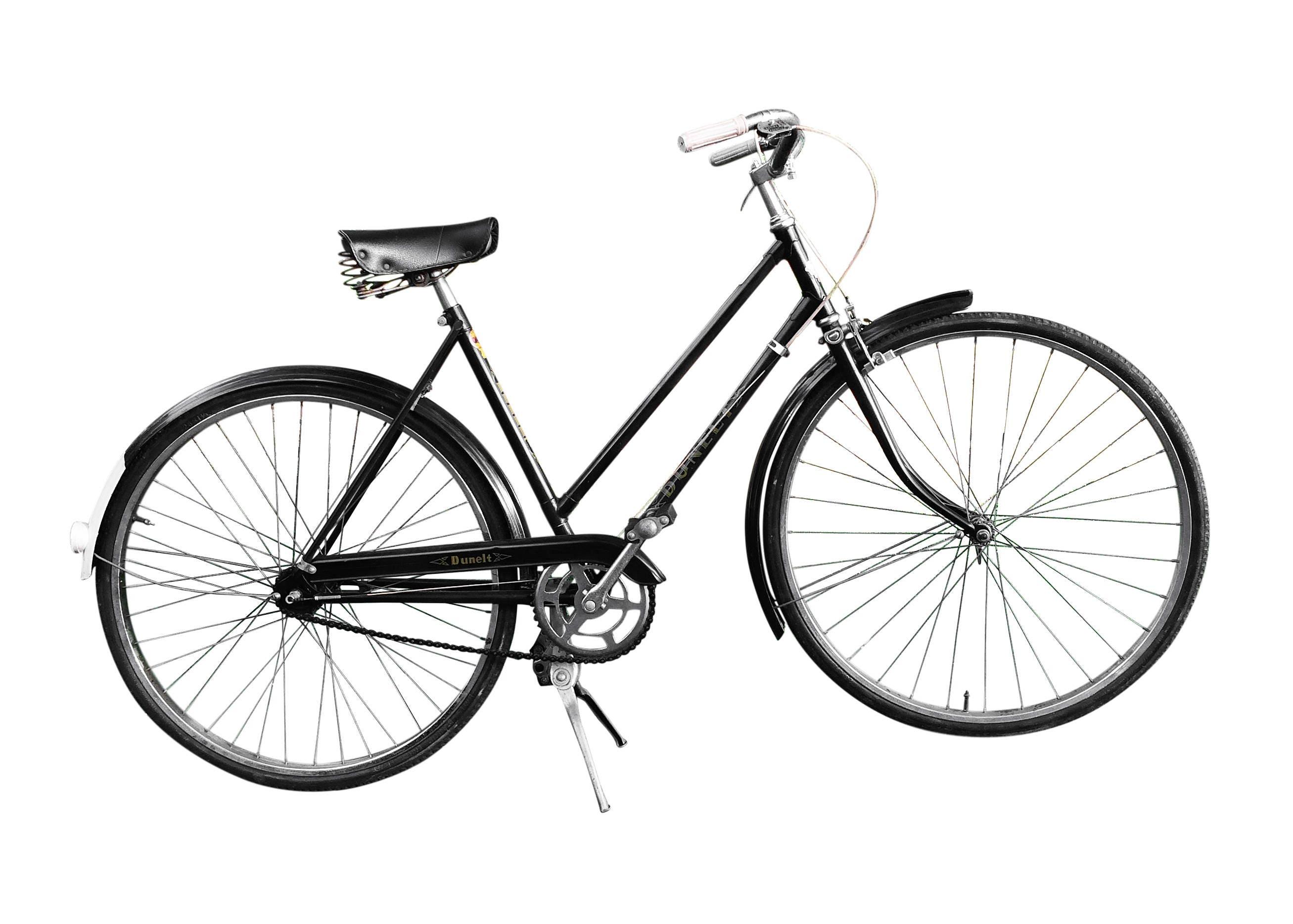 Vintage 1960s Dunelt English Bicycle
